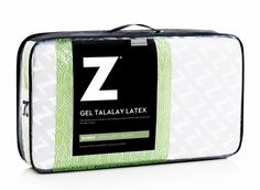 Gel Talalay Latex Pillow with Support Zones