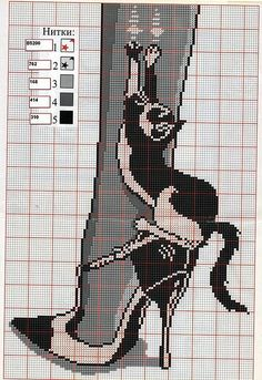 Gallery.ru / Фото #35 - Забавные схемы 2 - elena-555 free cross stitch pattern