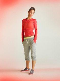 Nike. Love the look.