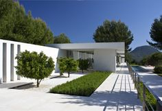 House in Ibiza Spain by STEPHANE PARMENTIER