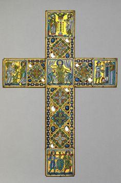 reliquary cross: Culture: Mosan (Belgium)  Date: 1160–70