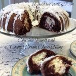 Chocolate Bundt With Coconut Cream Cheese Filling #BundtAMonth