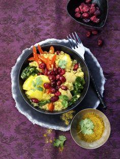 Recette de quinoa au poulet et cranberries Cranberry Marketing Committee