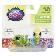 Littlest Pet Shop Splashina Lemonglow & Salty Shimmerton + Lps Pets, Little Pet Shop, Giraffe, Lego, Birthdays, Miniatures, Children, Board, Cute