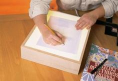 Instrutions to build a tracing box