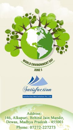 "It's not yours, not mine, It's Ours.  So, Protect your mother ""Earth"" who, nourish you.  http://www.satisfactionwebsolution.com/"