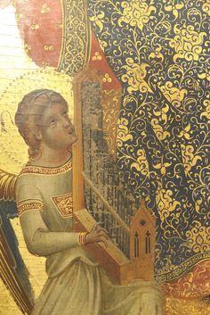 Venezia - Gallerie dell'Accademia - Paolo Veneziano - polittico con l'Incoronazione della Vergine