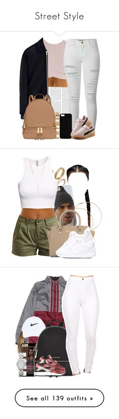 """""""Street Style"""" by deany ❤ liked on Polyvore featuring Asilio, McQ by Alexander McQueen, Frame Denim, Maison Takuya, ASOS, MICHAEL Michael Kors, Puma, Joolz by Martha Calvo, Forever 21 and Object Collectors Item"""