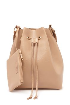 Faux Leather Bucket Bag | Forever 21 - 1000160370