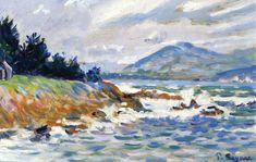 Vincent van Gogh — artist-signac: Saint Tropez, gale from east,...