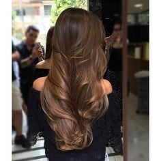 30 Fashionable Balayage Hair Color Ideas For Brunettes Balayage Hair, Ombre Hair, Balayage Brunette, Bayalage, Hair Highlights, Hair Day, Gorgeous Hair, Hair Looks, Dyed Hair