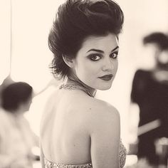 Lucy Hale...seriously one of the most stunning people I have ever seen!