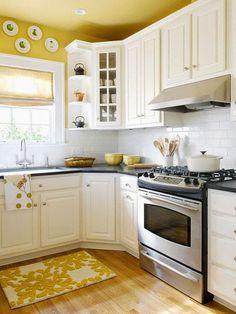 Que no falte amarillo en la cocina!   Decoratualma