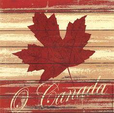 O Canada by Jo Moulton (art print) @Michelle Flynn Flynn Flynn Flynn Coleman for Art