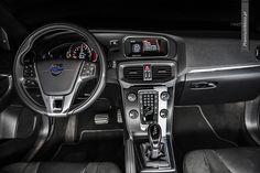 Volvo V40 R-design interior by premiumMoto.pl #volvo #r-design more: http://premiummoto.pl/11/02/volvo-v40-t5-r-design-nasza-sesja