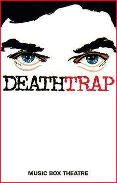 Deathtrap. Music Box Theatre. Fraver Design.