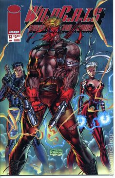 WildC.A.T.S Covert Action Teams #13. Art by Jim Lee, Scott Williams, and Al Vey, 1992