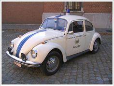 Volkswagen Kever - Belgian Police