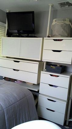 Ikea Stolmen in my daughter's 9 x 11 #small space bedroom