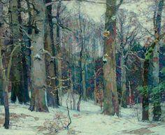 """"""" John Fabian Carlson, Forest Silence, 1917 """""""