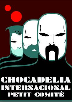 Chocadelia Internacional - Diseño para cartel del Petit Comité, Rktr Studios & Lalo López, 2013.