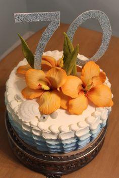 www.BakersCottageCakes.com https://www.facebook.com/bakers.c.cakes #HawaiianThemedParties #Hawaii #Tropical #Hawaiiancakes