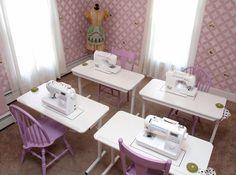 Enchanted Makeovers National Sacred Sewing Room Program. #sewingsaveslives