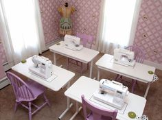 Enchanted Makeovers National Sacred Sewing Room Program. #sewingsaveslives