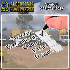 Albertinia Meubelvervoer strives for Excellence in the quality of servis we provide. Our trucks and storage facilities are all kept to the highest standard to ensure that service. Storage Facilities, High Standards, Free Quotes, Trucks, Truck