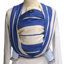 Didymos Baby Wrap Sling (size 6 Standard Blue) for sale online Best Baby Sling, Hip Problems, Best Baby Carrier, Woven Wrap, Baby Wraps, Blue Stripes, Sling Backpack, Organic Cotton, Backpacks