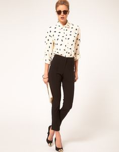 The quintessential pair of skinny pants that you could easily build your entire working wardrobe off of. ASOS Skinny Crop Pant ()