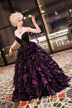 Disney Designer Villains Dolls Cosplay Ursula