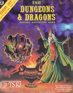 D&D cover art for rulebooks of various editions of the Dungeons & Dragons tabletop RPG game. Dungeons And Dragons Art, Advanced Dungeons And Dragons, D Book, Book Art, Science Fiction, Fiction Movies, Pen And Paper Games, Games To Play, Playing Games