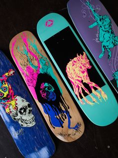 We got a brand-new shipment from Welcome Skateboards Get it before the pixie du. - We got a brand-new shipment from Welcome Skateboards Get it before the pixie dust wears off Skateboard Deck Art, Skateboard Design, Skateboard Girl, Painted Skateboard, Welcome Skateboards, Cool Skateboards, Skate Shape, Art Surf, Arte Grunge