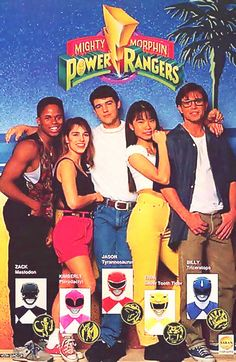 Power Rangers early promotional ad