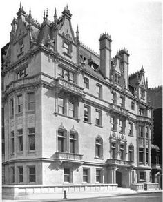 Woolworth Mansion, Fifth Avenue, New York.