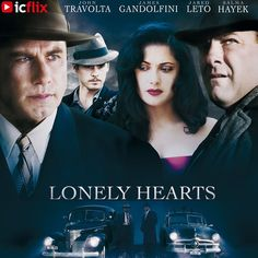 "Watch Lonely Hearts on #icflix Based on a true story. In the late 1940's, Martha Beck and Raymond Fernandez were America's notorious ""Lonely Hearts Killers"". #LonelyHeartsKillers #LonelyHearts #Drama #DramaMovie #TrueStory #BasedOnATrueStory #Mistery #MisteryMovie #MarthaBeck #RaymondFernandez #SexyLatinLover #ToddRobinson #SalmaHayek #JaredLeto #JohnTravolta #JamesGandolfini #RIPJamesGandolfini http://www.icflix.com/#!/movie/ca789cc2-e5f3-4c23-a0aa-5654bfcea4eb"