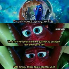 Filme: Procurando Dory Disney Up, Disney And More, Cute Disney, Disney Dream, Disney Pixar, Nickelodeon Cartoons, Memes Status, Sad Girl, Disney Quotes