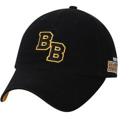 Men s Boston Bruins adidas Black Dad Ligature Adjustable Hat Boston Bruins b835e4529de4
