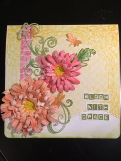 Bloom with Grace by aloeviall - Cards and Paper Crafts at Splitcoaststampers #HeartfeltCreations
