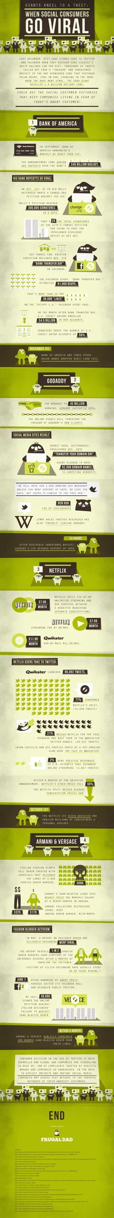 Social Consumer Infographic