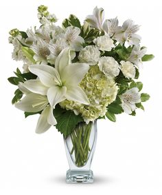 02fe4d85c Who s the fairest of them all  This snow-white bouquet. A stunning statement