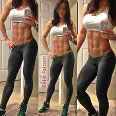 Female Form #StrongIsBeautiful #Motivation #WomenLift2 Bella Falconi