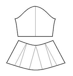 Las mangas campana cortas, 3/4 o largas, siempre han tenido su espacio dentro de la moda. Existen muchas variaciones y siempre resultan atractivas. La manga campana que les traigo, lleva corte a n…