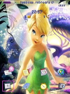 Free themes: Tinkerbell and Stormy for the BlackBerry Storm