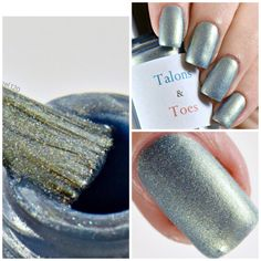 Today I am featuring Down and out spy.  It is a sky blue with gold duochrome and scattered holographic shimmer. Dries to a satin finish. Opaque in two thin coats. Glossy topcoat recommended. You can purchase it for $13 from my etsy shop linked below. Thanks to Ashley at fireangel120 for the gorgeous photos!  https://www.etsy.com/listing/491212489/down-and-out-spy?ref=shop_home_active_10