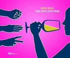 Wine beats everything