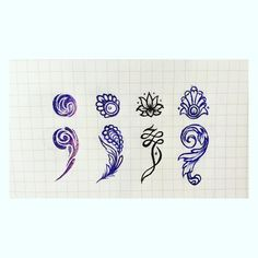 Semi-colon ; tatto design ideas. Don't forget to reference the artist!!! https://www.instagram.com/inklings_sun/