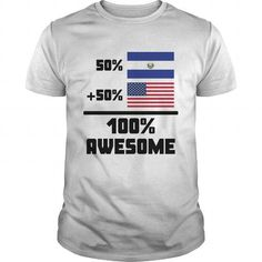 Awesome El Salvadorian American - #cute gift #husband gift. Awesome El Salvadorian American, shirt prints,funny hoodie. ACT QUICKLY =>...
