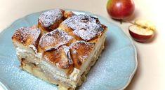 tvarohova-zemlovka-s-jablky Sugar Love, Banana Bread, French Toast, Food Porn, Food And Drink, Pie, Baking, Breakfast, Chef Recipes